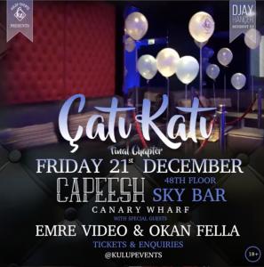 Cati Kati at Capeesh Sky Bar 21/12/18