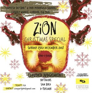 Zion Christmas Special Party at Capeesh Sky Bar