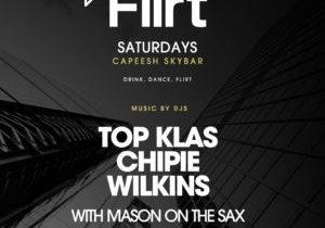 Flirt Saturdays At Capeesh Sky Bar